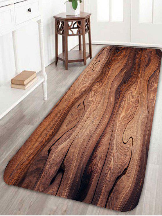 غودغراين مساحة كبيرة البساط للمطبخ الحمام - BROWN W24 بوصة * L71 بوصة