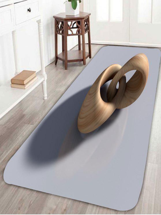 alfombra de terciopelo coralino de terciopelo no
