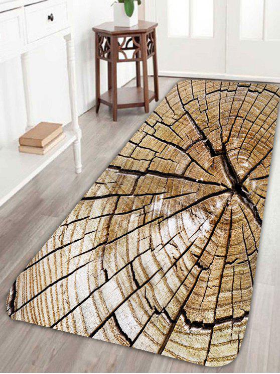 Broken Plank Soft Absorption Bathroom Floor Rug