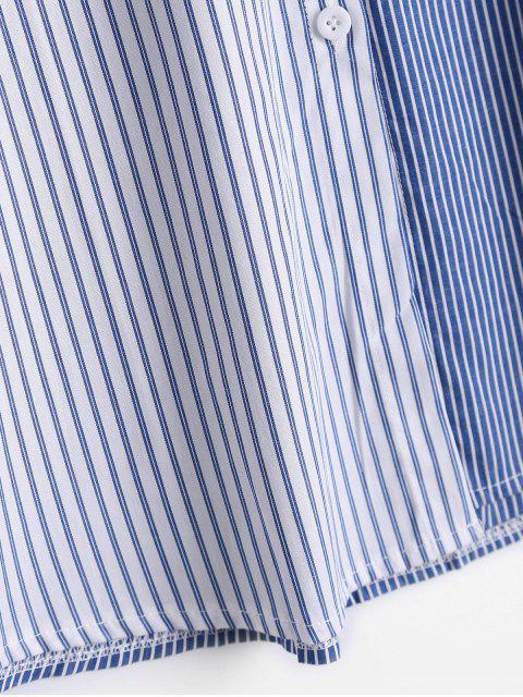 Chemise de poche rayée boutonnée - Rayure L Mobile