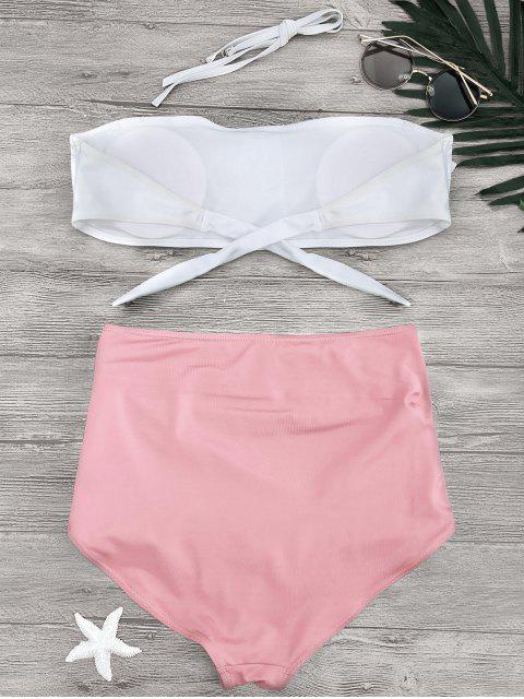 Bikini à culot - ROSE PÂLE S Mobile