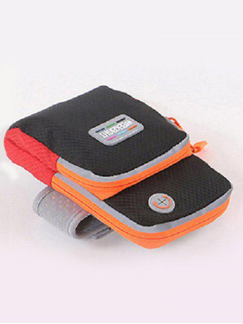 outfits Color Block Running Arm Bag - BLACK  Mobile
