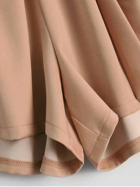Shorts à taille haute - Kaki TAILLE MOYENNE Mobile