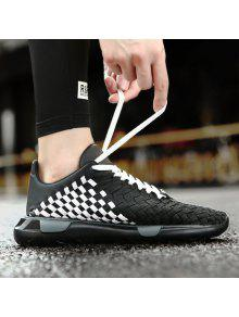 Weave Breathable Plaid Pattern Casual Shoes low price fee shipping outlet marketable release dates authentic discounts for sale eastbay for sale bFjKU