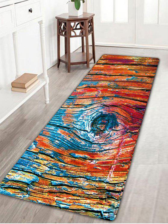 Alfombra antideslizante de la franela del vinta azul - Antideslizantes para alfombras ...