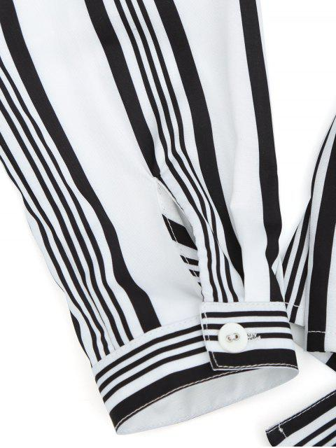 new Stripes Button Up Blouse - STRIPE S Mobile