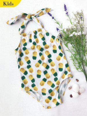 Kinder Ananas-Druck Einteiler Badeanzug