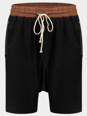 Bolsillos con Zip Basculador Terry Sweat Shorts