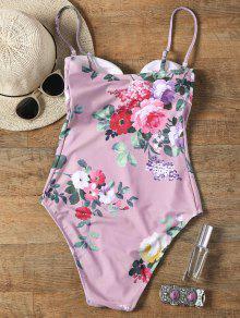 59da3c1a7c Keyhole Floral One Piece Swimsuit; Keyhole Floral One Piece Swimsuit ...