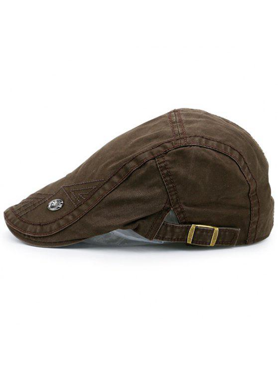 قابل للتعديل اللبلاب قبعة مع التسمية - القهوة براون