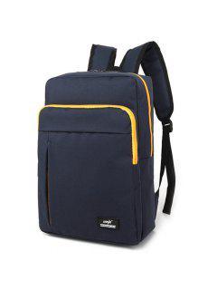 Padded Strap School Backpack - Deep Blue