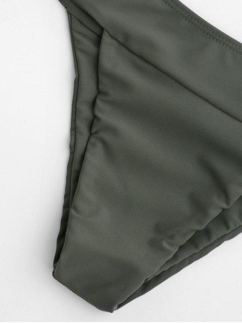 shops Thong Bralette Bikini - ARMY GREEN L Mobile