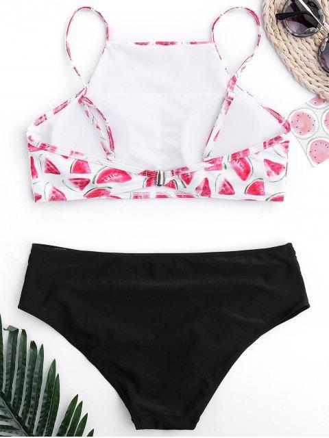 Bikini à haute couture - Noir S Mobile