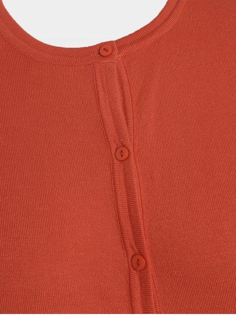 Mailles tricotées à taille unique - Orange XL Mobile