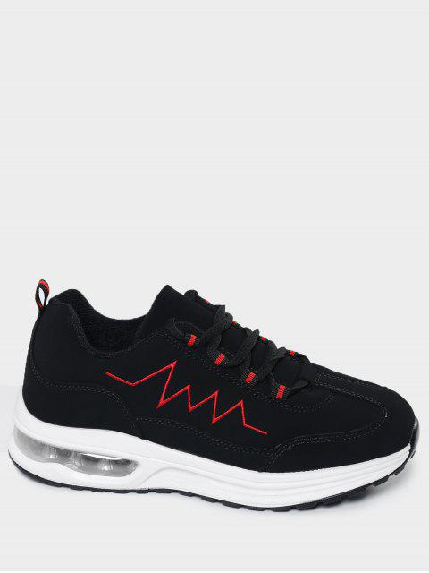 shop Air Cushion Embroider Line Athletic Shoes - RED 41 Mobile