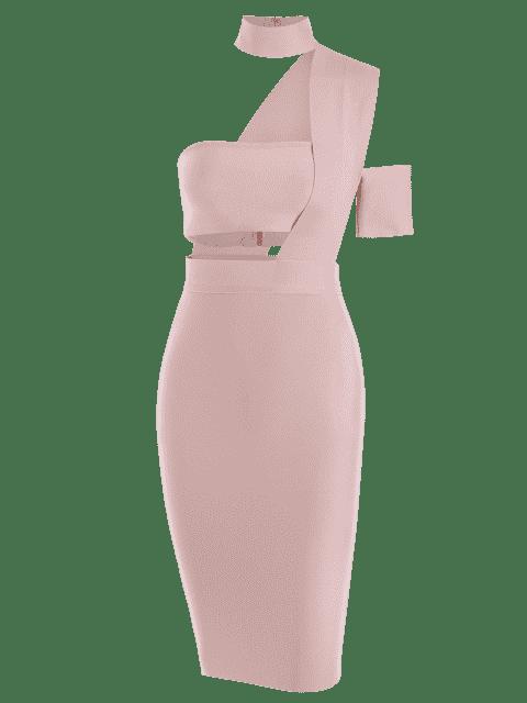 Ensemble de jupe haut et haut taille Bandeau - ROSE PÂLE M Mobile