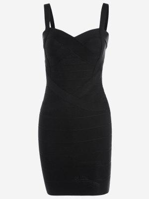 Sweetheart Neck Bodycon Bandage Dress