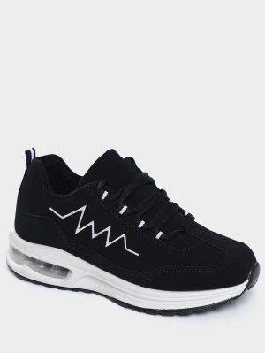 Air Cushion Embroider Line Athletic Shoes
