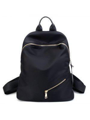 Top Manija Zips Nylon Backpack