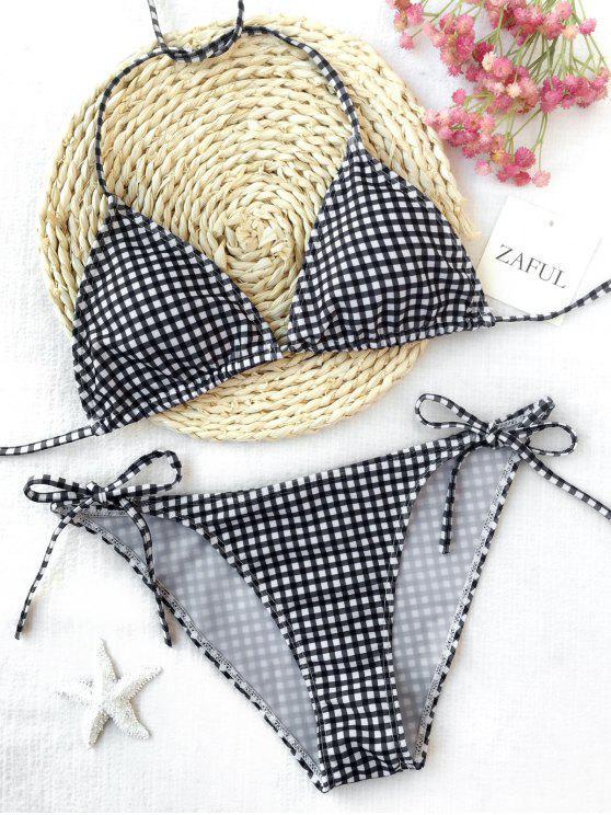 Juego de bikini con cordones - Cuadro M