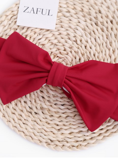 chic Kids Bow Bandeau Bikini Set - RED 8T Mobile