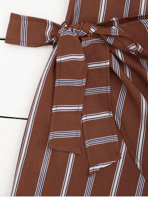 Robe miniature à rayures nouées - Rayure S Mobile