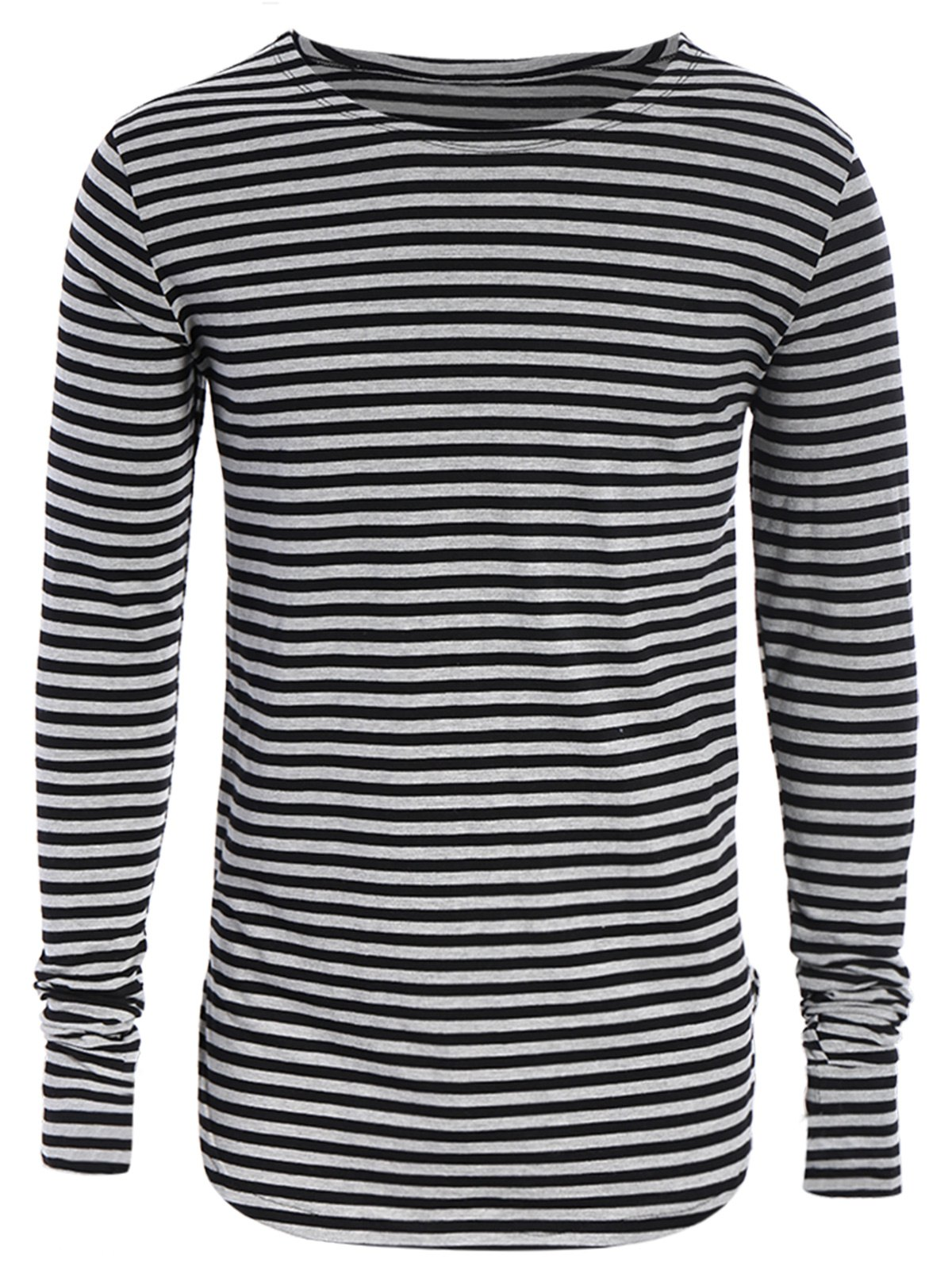 Striped Long Sleeve Mens Jersey Top 220754401