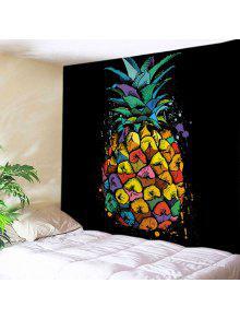 الجدار شنقا فن الديكور الأناناس طباعة نسيج - W59 بوصة * L51 بوصة