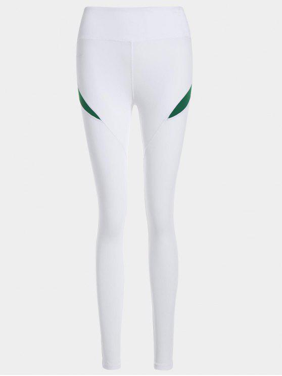 unique Running Tights Workout Leggings - GREEN S