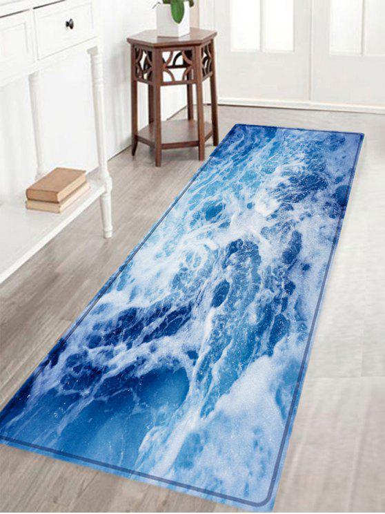 المحيط عرض الموجة نمط امتصاص الماء البساط المنطقة - أزرق W16 بوصة * L47 بوصة