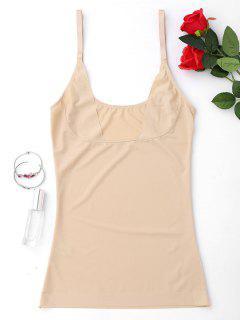 Shaper De Compresión Cuerpo Cinturón Camiseta Sin Mangas - Desnudo Xl