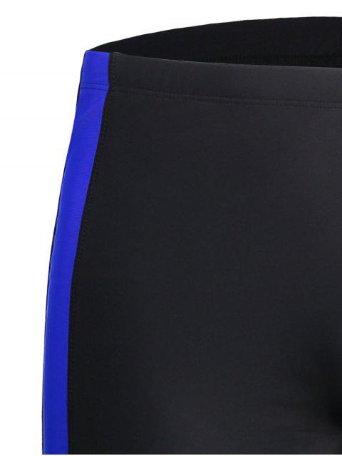 latest Swim Trucks Boxer Shorts Mens Bottoms - BLACK 3XL Mobile