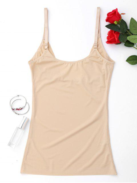 womens Compression Shaper Body Girdle Tank Top - NUDE L Mobile