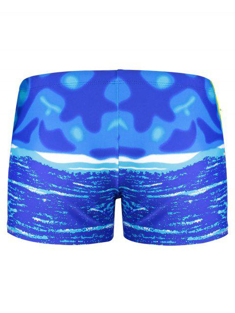 Pantalons de boxeur pour hommes - Bleu XL Mobile