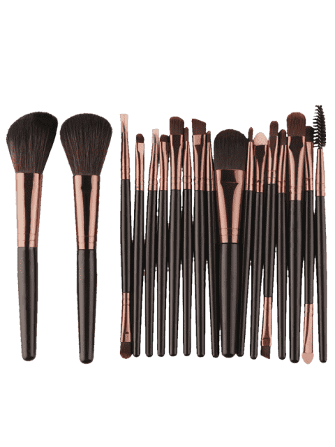 18Pcs Multifunktions Gesichts Make-up Pinsel Set - RAL8022 Dunkelbraun  Mobile