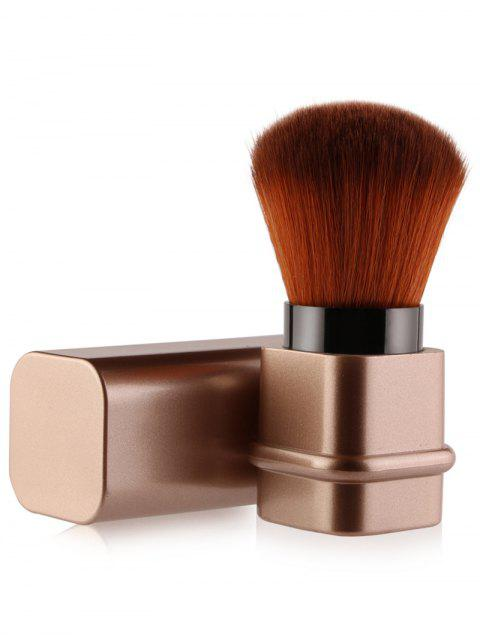 hot Telescopic Square Tube Blush Brush - ROSE GOLD  Mobile
