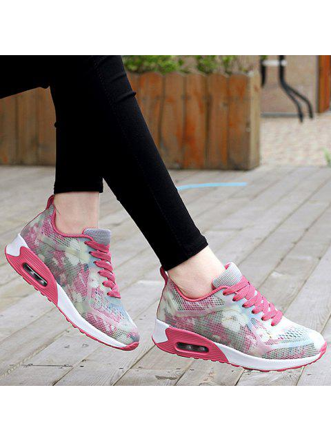 new Air Cushion Multicolor Athletic Shoes - RED WITH WHITE 38 Mobile