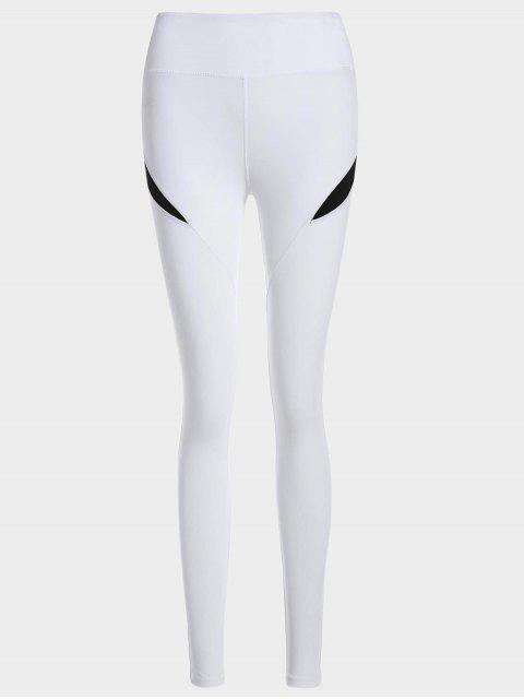 affordable Running Tights Workout Leggings - BLACK M Mobile