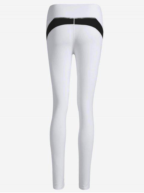 buy Running Tights Workout Leggings - BLACK S Mobile