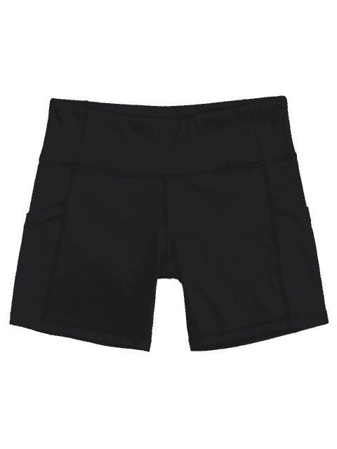 Shorts d'entraînement Active Pockets - Noir S Mobile