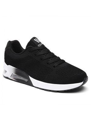 Air Cushion Mesh Zapatos Deportivos - Negro 37