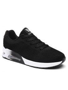 وسادة الهواء شبكة أحذية رياضية - أسود 37