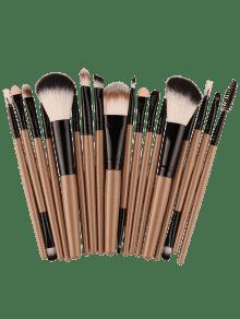 18Pcs Ensemble De Brosses Multifonctions Pour Maquillage Facial