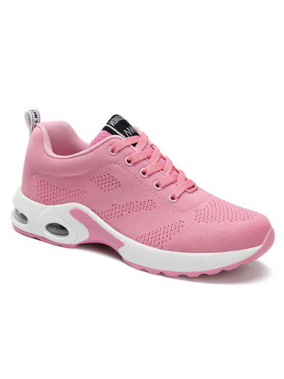 وسادة الهواء شبكة تنفس أحذية رياضية - زهري 40