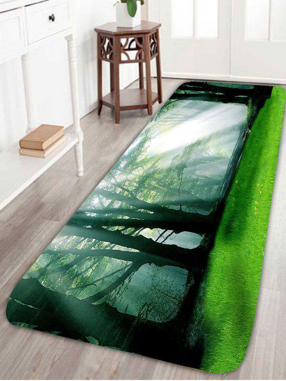 غابة الشمس المشرقة ماء - أخضر W16 بوصة * L47 بوصة