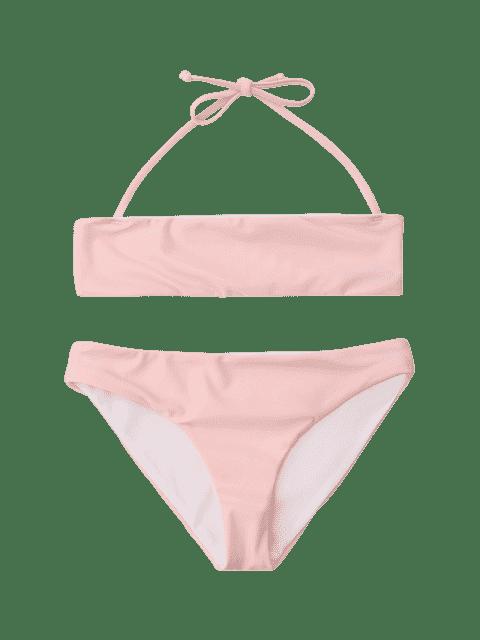 outfit Kids Halter Bikini Set - PINK 7T Mobile