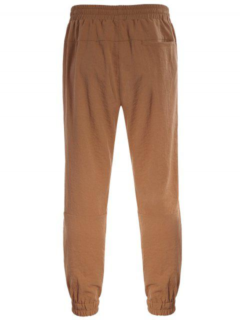 Pantalons de jogging - Brun Clair 4XL Mobile