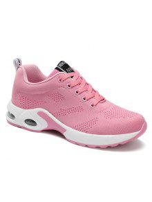 Air Cushion Mesh Breathable Athletic Shoes - Pink 38