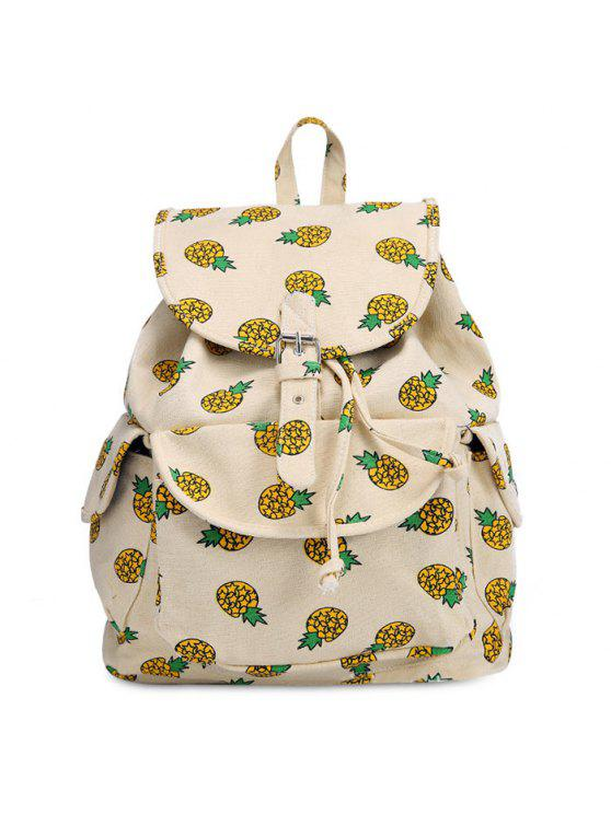 buy Fruit Print Canvas Backpack - PALOMINO