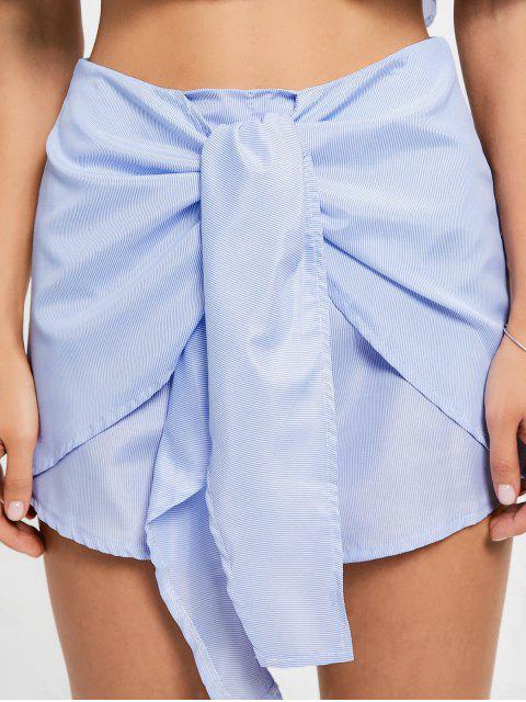 Shorts à épaule à rayures et à lacets - Rayure XL Mobile